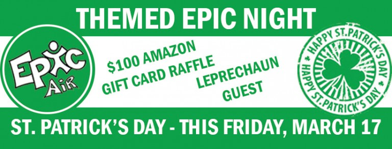 Leap with the Leprechaun this Friday!