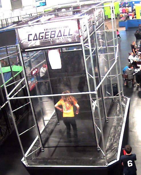 Trampoline Cageball