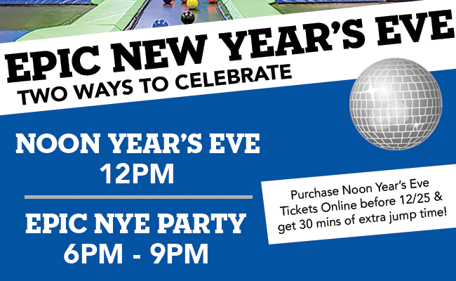 New Year's Eve at Epic Air!